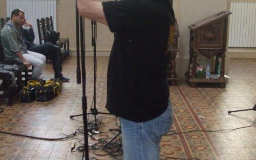 Ivan Kirishev in action