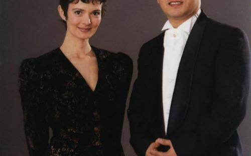 Boriana Naydenova and A-El Kim (conductor) 2003